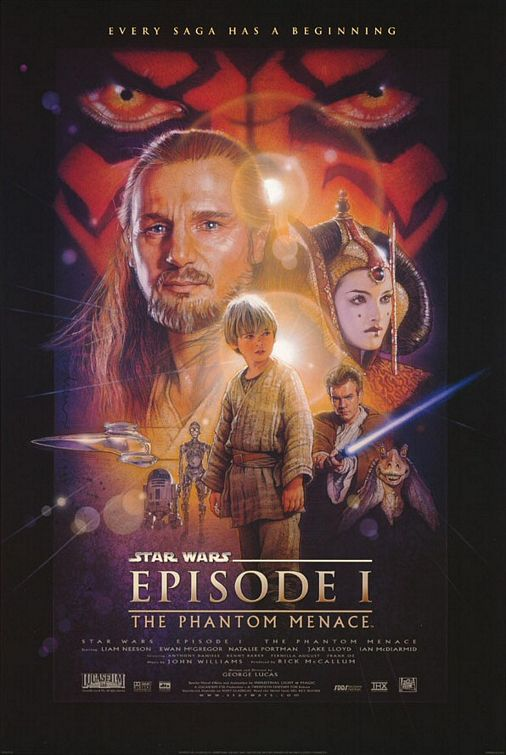 Movie Poster Image for Star Wars Episode 1: The Phantom Menace